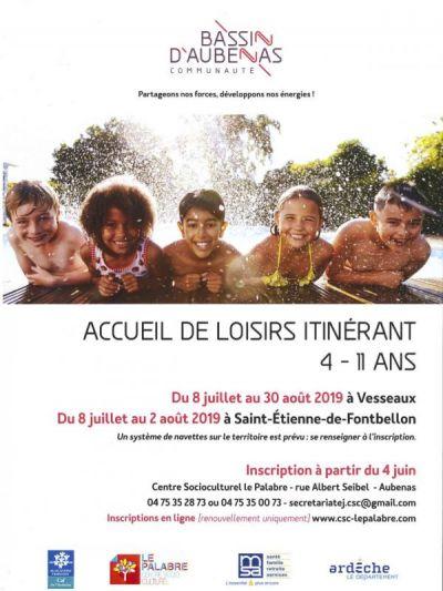 Affiche Accueil itinérant