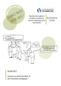 Affiche questionnaire