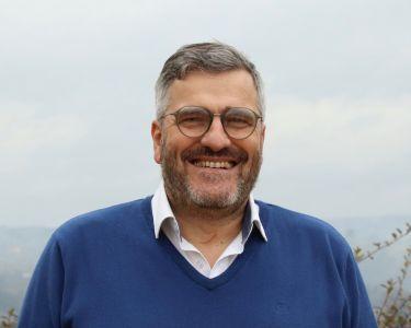 André Laurent, maire de Vinezac