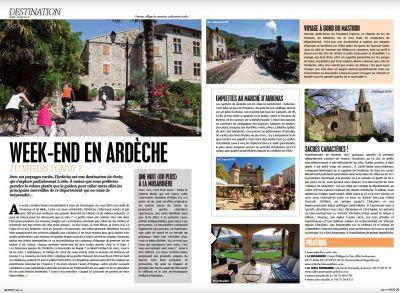 Article dans le magazine Spot