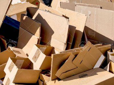 Cartons : à mettre à la déchetterie