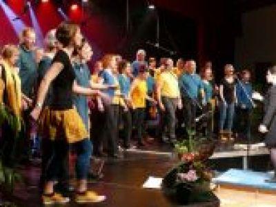 Chante la vie en concert
