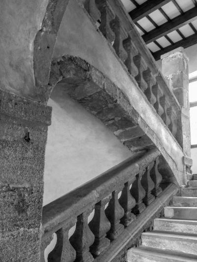 L'escalier du château Julien