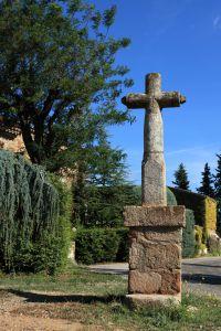 La croix avant l'accident