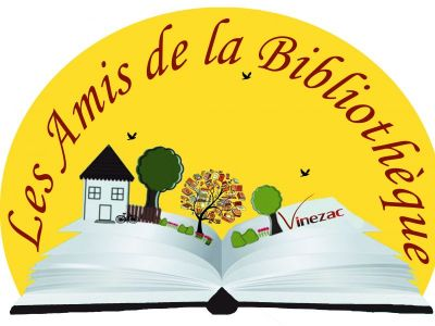 Logo bibliothèque de Vinezac