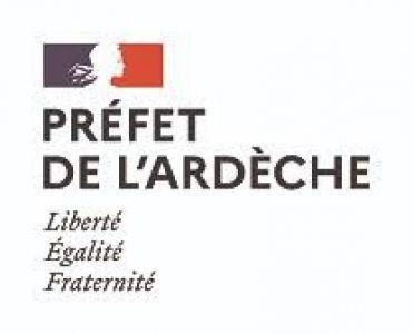 Logo préfet Ardéche