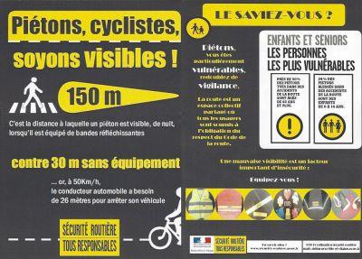 Sécurité piétons/vélos